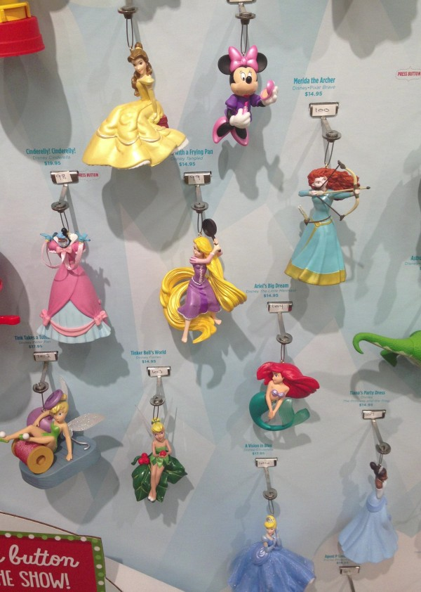 Various Princess/Minnie Mouse Ornaments