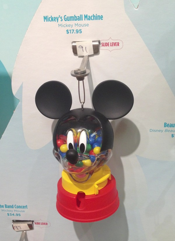 Mickey's Gumball Machine