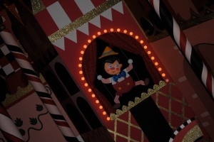 "They said: ""Disney characters in small world? Blasphemy!"" But, it's fun and the characters look great."